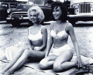 Shelley Fabares, Barbara Eden  Ride the Wild Surf  (1964)
